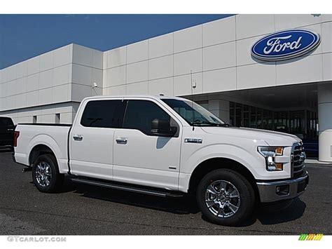 2016 white ford f150 2016 oxford white ford f150 xlt supercrew 113296155