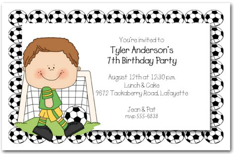 invitation wording for children s birthday boys soccer time invitations soccer invitations