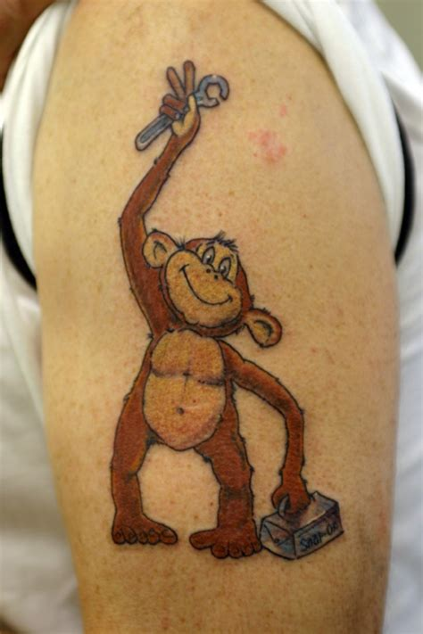 grease monkey tattoo pin by bowman on file