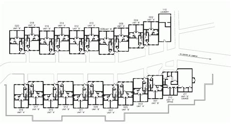 Dining Room Chair Plans townhouses west residential education and housing