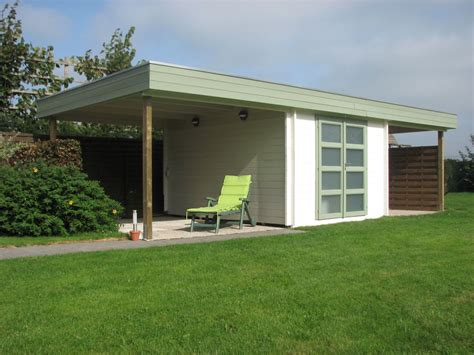 Carson Cabins by Keops Moderna Flat Roof Log Cabins 2 5m