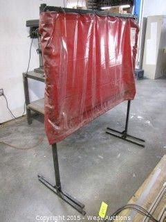 wilson welding curtains west auctions auction complete liquidation of sign