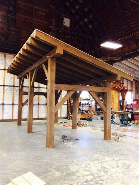 timber frame shed  heritage fabrication  heritagefab