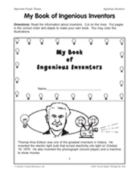 alexander graham bell mini bio my book of ingenious inventors teachervision