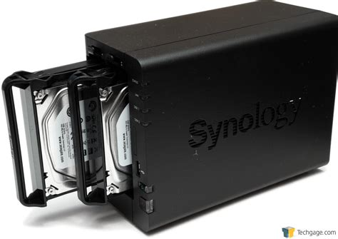 nas review synology diskstation ds216 2 bay nas review techgage