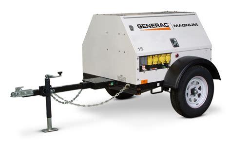 generac mobile diesel generator mlg15m 13 14 kw