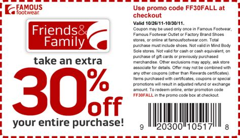 printable nike outlet coupons 2015 famous footwear coupons april 2015