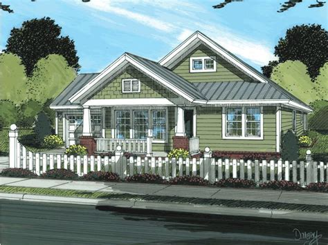 bungalow house plans cottage house plans