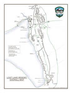 oregon cgrounds map maps lost lake oregon
