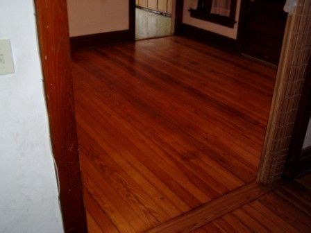 I have always really loved hardwood floor. I really like
