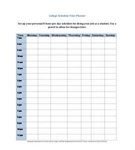 Student Daily Planner Template by Daily Planner Template 26 Free Word Excel Pdf