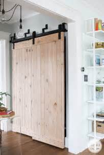 Bypass Doors For Closets Remodelaholic 35 Diy Barn Doors Rolling Door Hardware Ideas