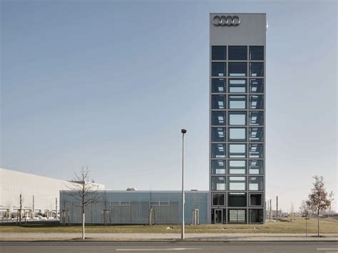 Audi Adlershof by Khs Architekten Audi Zentrum Berlin Adlerhof