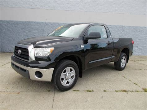 Toyota Hudson Used 2007 Toyota Tundra Base 2dr Regular Cab 4wd Lb In