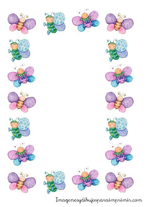 imagenes para decorar hojas blancas margenes para decorar hojas imagenes mil bordes infantiles