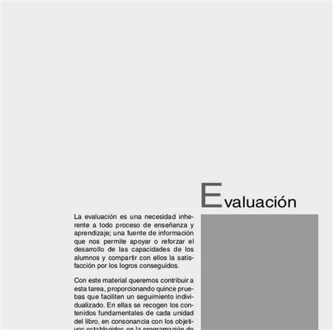 evaluaciones 6 primaria conocimiento medio lengua quinto de primaria anaya evaluaciones material fotocopiable autorizado