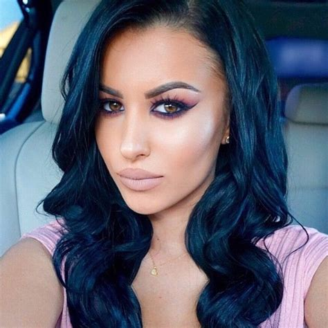 ethnic hair coloring latino 24 best images about dark blue hair on pinterest