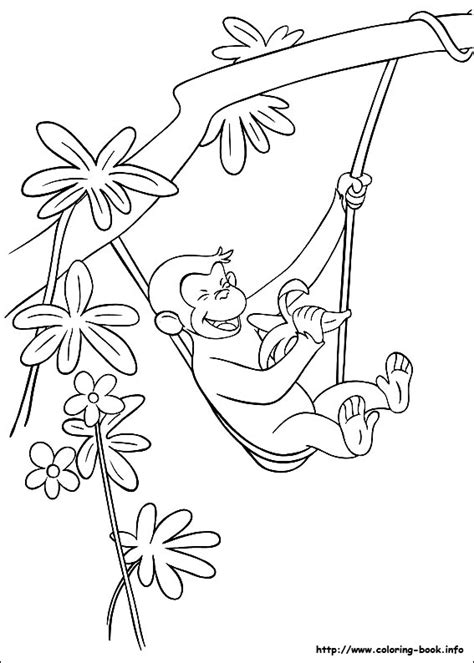 george coloring book page amazing coloring pages curious george coloring pages