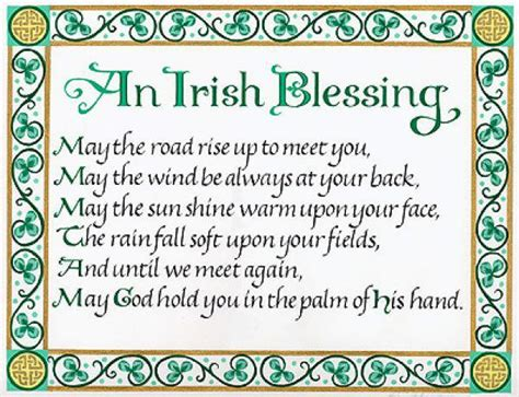 roma downey blessing st patricks day christian and scripture