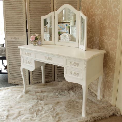 white desk mirror antique white large dressing table desk mirror