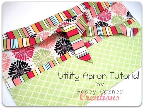pattern for utility apron rosey corner creations utility apron tutorial