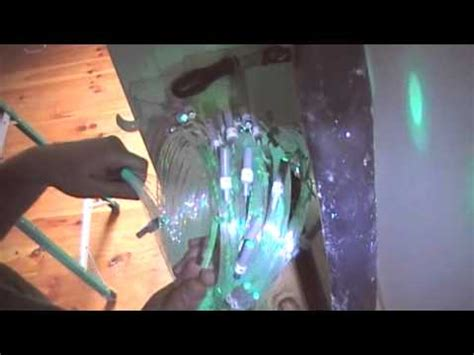 How To Install Fiber Optic Ceiling by Fiber Optic Ceiling Installation In Drywall For