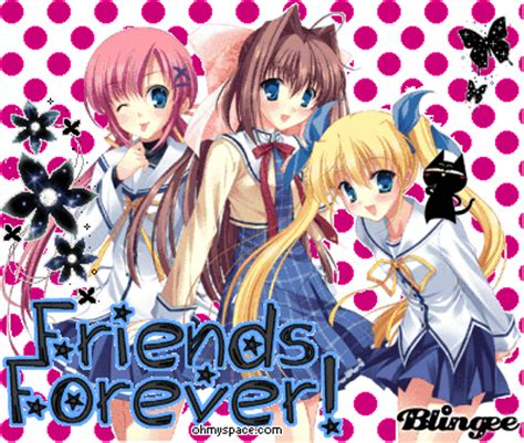 5 Anime Friends by Anime Friends Forever Www Pixshark Images