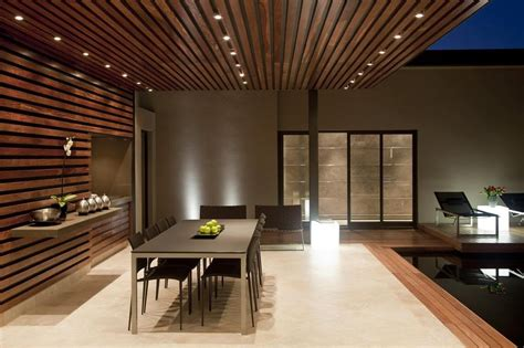 Glass and steel renovation with bedroom bridge