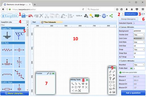 criar layout bootstrap online easyeda desenho de circuitos eletr 244 nicos e pcb arduino