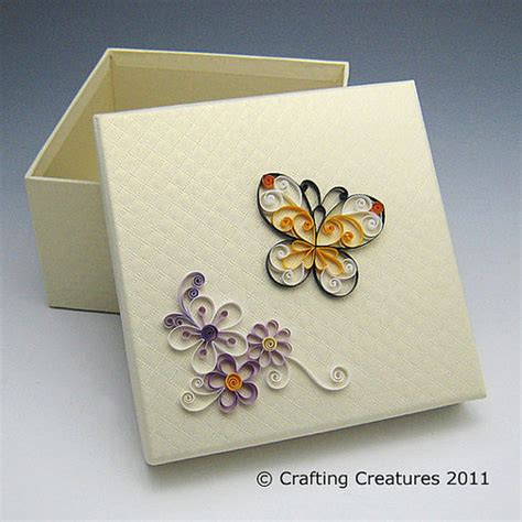 paper quilling box tutorial quilled butterfly box flickr photo sharing