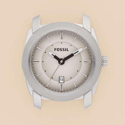 Jam Tangan Fossil Es3060 Brown Silver White kepala jam tangan fossil type c241001