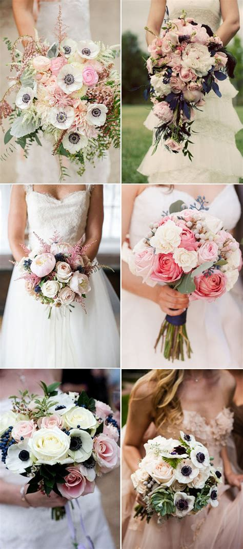 Wedding Bouquet Navy by 20 Fabulous Ideas For An Navy And Pink Wedding