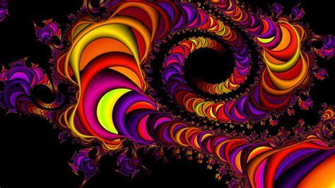 wallpaper fractals bubbles  abstract