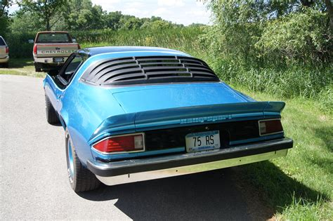 camaro 75 for sale file 75 chevrolet camaro rs rear jpg wikimedia commons