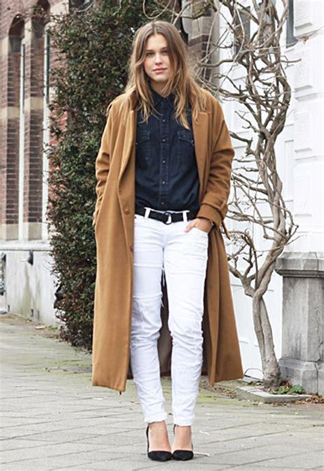 Dress Blanc Brukat comment porter le jean blanc dress like a parisian