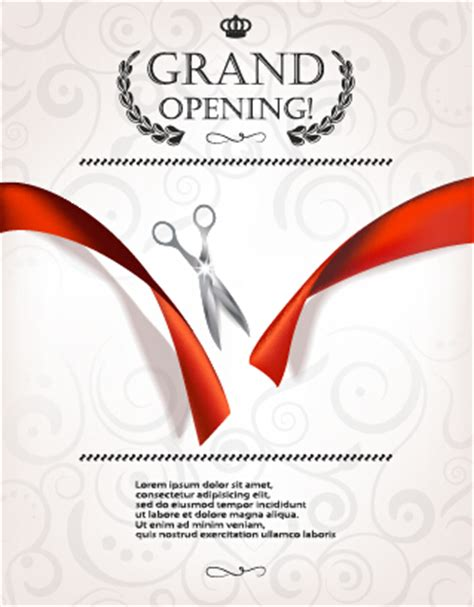 invitation card templates for opening ceremony grand opening invitation template free templates data