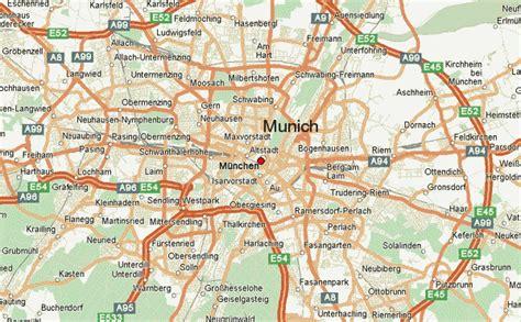 munich map munchen map images
