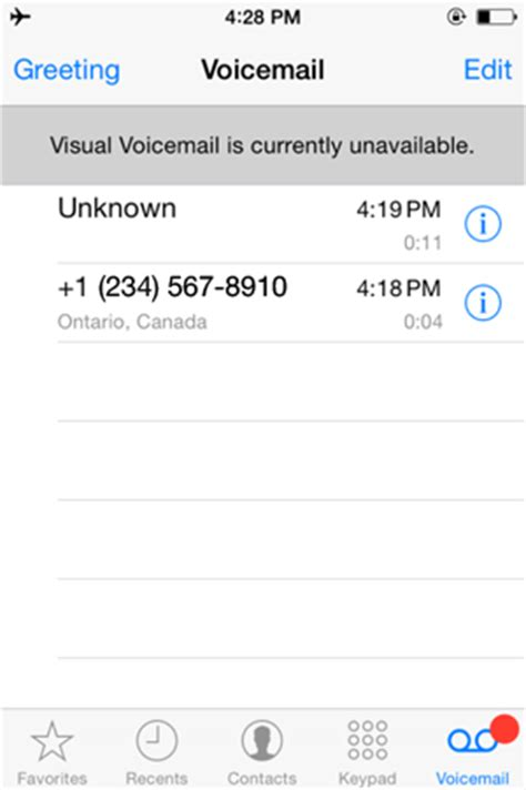 Iphone Voicemail Not Working Iphone Visual Voicemail Subscribing To And Setting Up Iphone Visual Voicemail