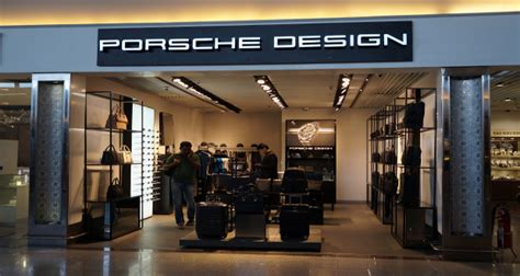 porsche design store porsche design opens at gmr hyderabad international airport