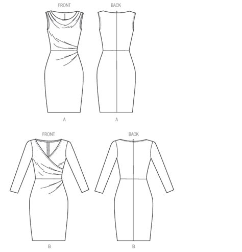 pattern review new look 6080 butterick 6080 misses dress