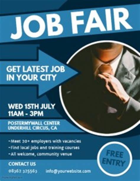 1 080 Customizable Design Templates For Job Fair Flyer Postermywall Career Fair Template
