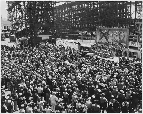 electric boat victory yard file quot world war ii bond rally ajc band from hamilt6on