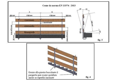 altezza ringhiera altezza parapetti balconi normativa accogliente casa di