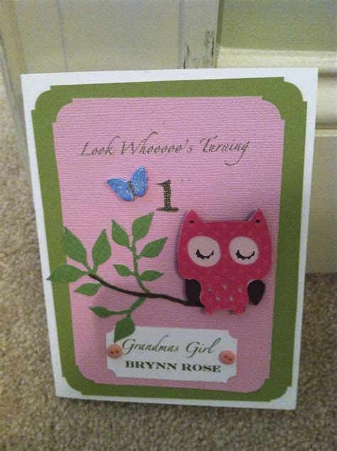 Handmade 1st Birthday Gifts - 1000 images about birthday card for 1st birthday on