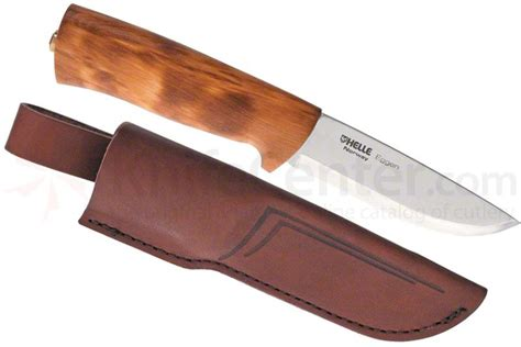 Best Kitchen Knives Reviews helle eggen hunting knife 4 quot blade curly birch handle