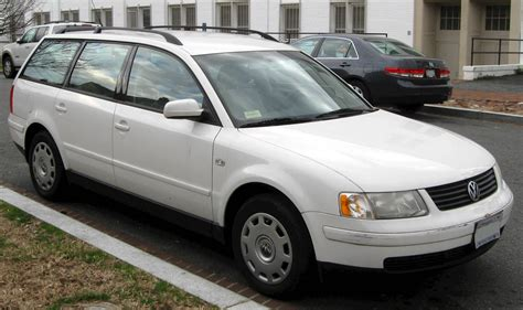 2001 Volkswagen Passat Wagon by 2001 Volkswagen Passat Gls V6 Wagon 2 8l V6 Manual
