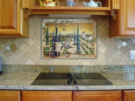 hand painted tiles for kitchen backsplash tre sorelle hand painted tile mural installations