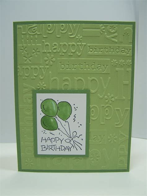 Handmade Masculine Birthday Cards - stin up handmade greeting card birthday card masculine