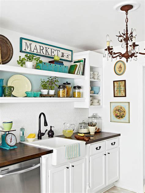 Cottage Kitchen Decor by Today S New Cottage Style Decorating Your Small Space