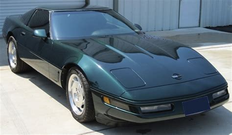 polo green 1996 corvette paint cross reference